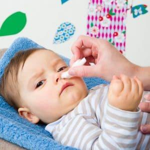 moucher bébé coton