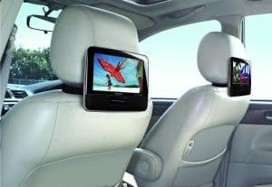 lecteur dvd voiture double écran